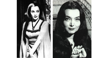 Lilly and Morticia